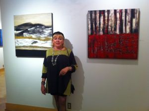 german artist Inge Strack at GACC